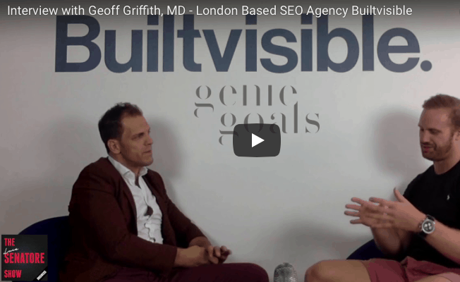 Interview with Geoff Griffith of SEO, Content and Analytics leading Agency: Builtvisitble